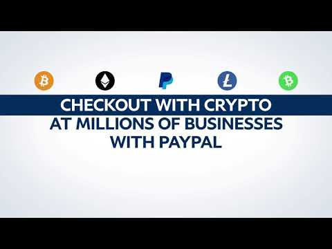 "PayPal Launches ""Checkout with Crypto"""