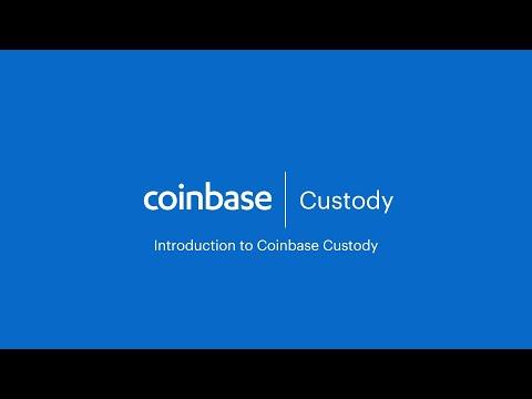 Coinbase Custody: An Introduction