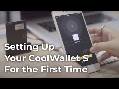 Setting Up Your CoolWallet S For The First Time (Generate Seeds on App)
