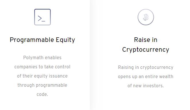 Polymath Investor benefits via Homepage