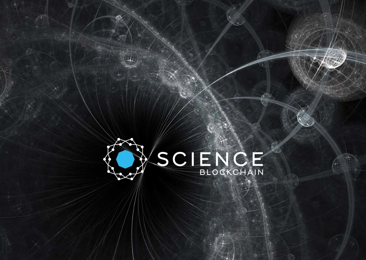 Science Blockchain - Investing Down to a Science