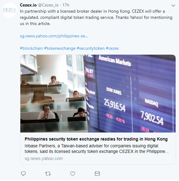 CEZEX via Twitter