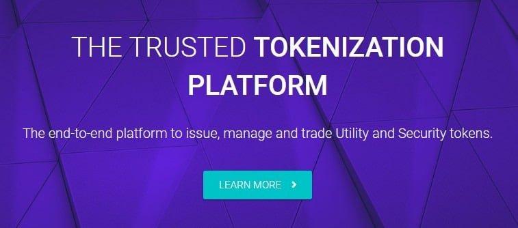 Tokeny via Homepage
