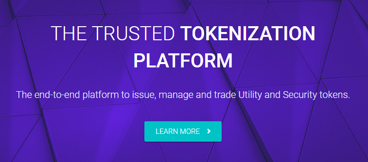 Tokeny via Homepage
