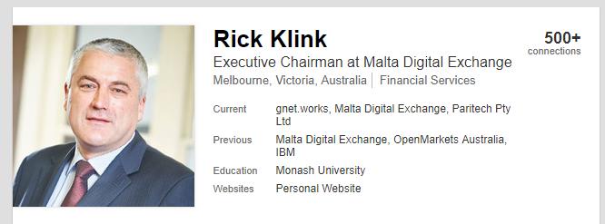 Rick Klink via Linkedin