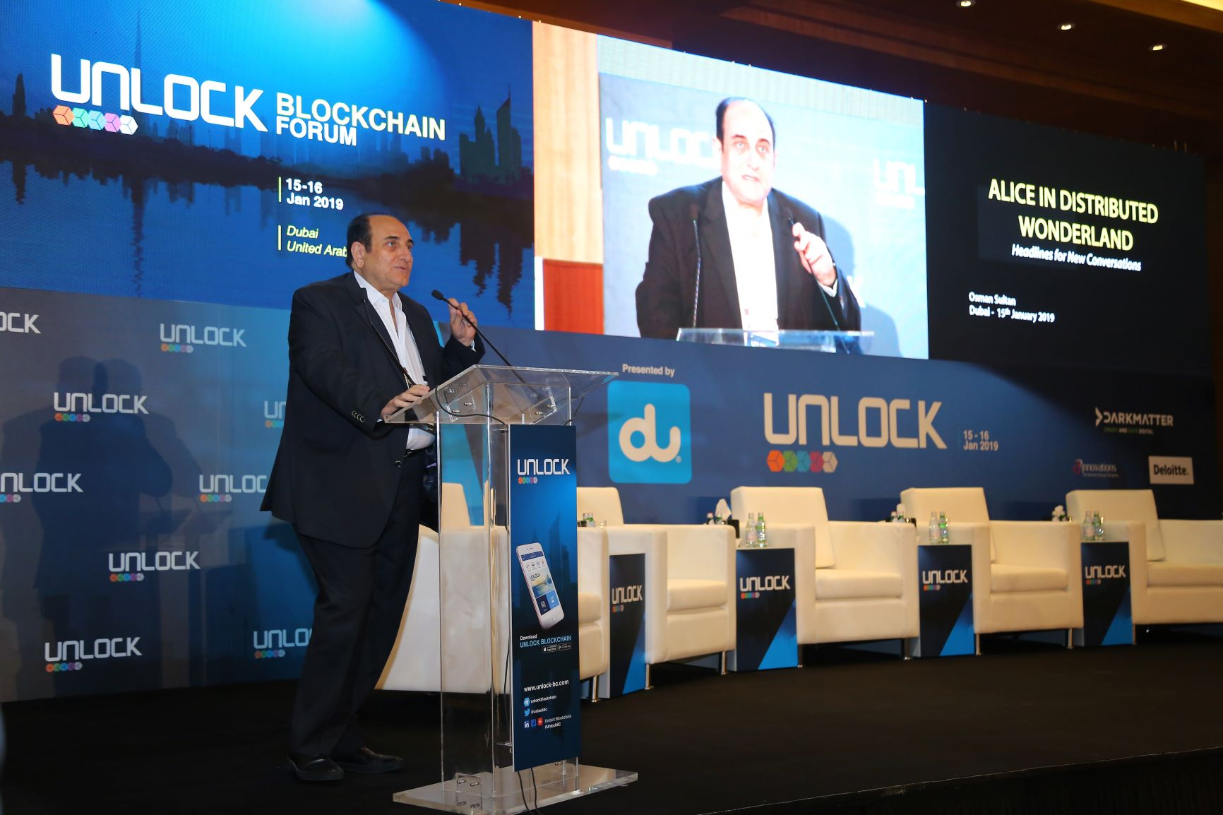 UNLOCK Blockchain Forum ends with major announcements on the 10-year anniversary of the Blockchain inception
