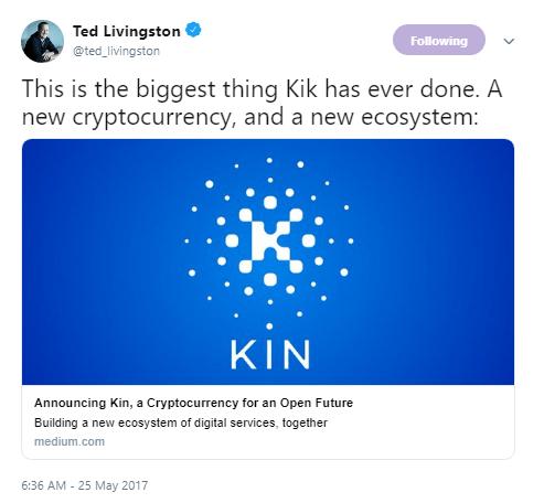 Kik via Twitter