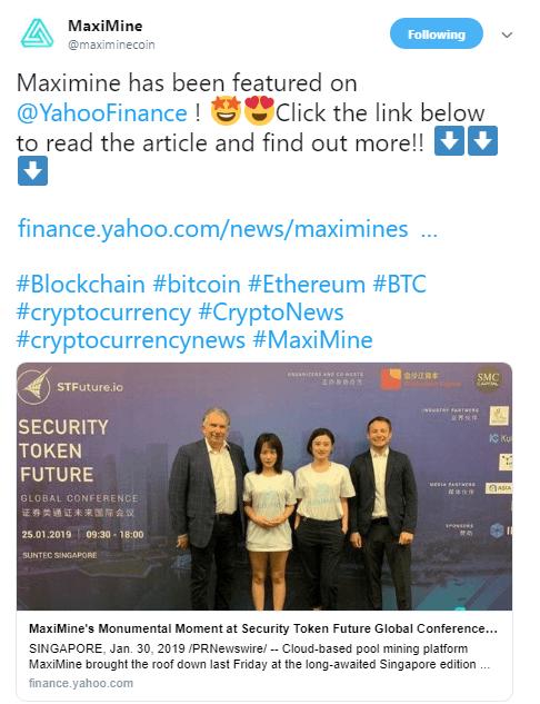 MaxiMine via Twitter