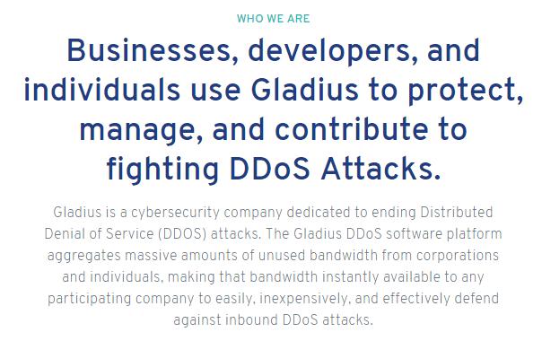 Gladius Network Avoids SEC Fines