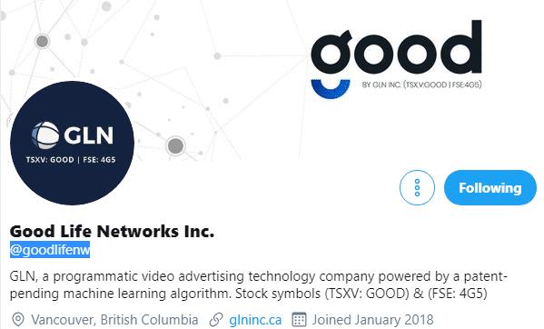 Good Life Networks via Twitter