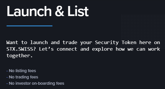 STX.Swiss - A Decentralized Security Token Exchange