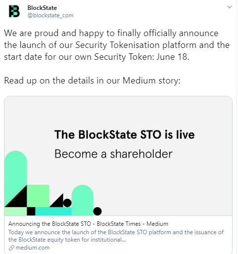 BlockState via Twitter - Corda Development Team