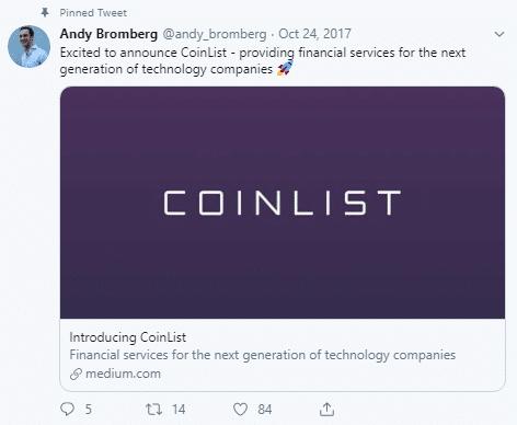 Andy Bromberg via Twitter