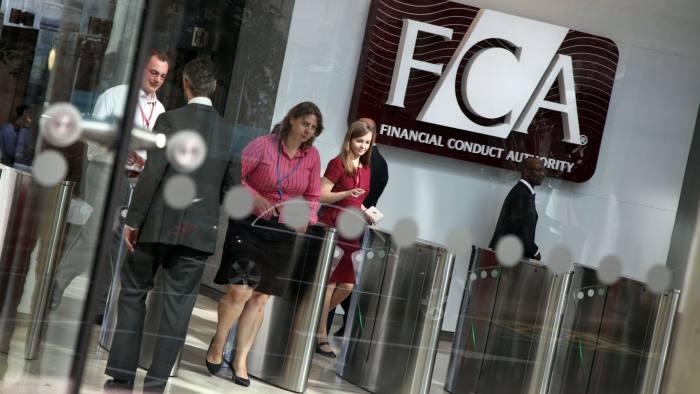 UK FCA via Financial Times