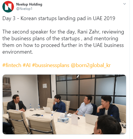 Alliance Investments CIO Rani Zahr via Twitter - River Plaze