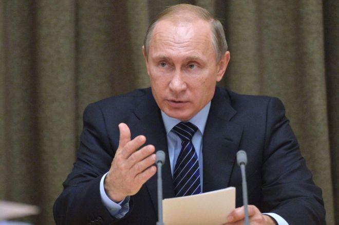 Russian President Vladimir Putin via BBC