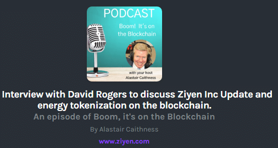 ZiyenCoin CEO Alastair Caithness via Podcast