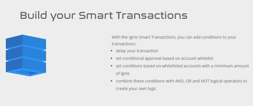 Ignis Blockchain via Homepage
