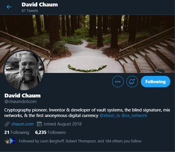 David Chaum - History of Digital Currency
