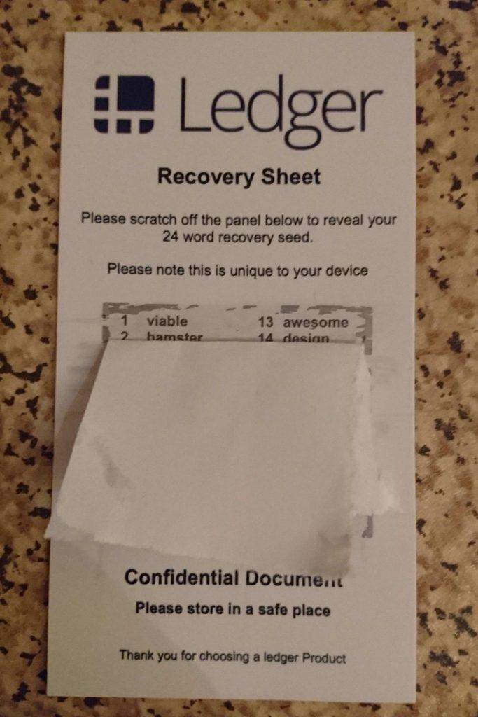 Bitcoin Hardware Wallet Scam