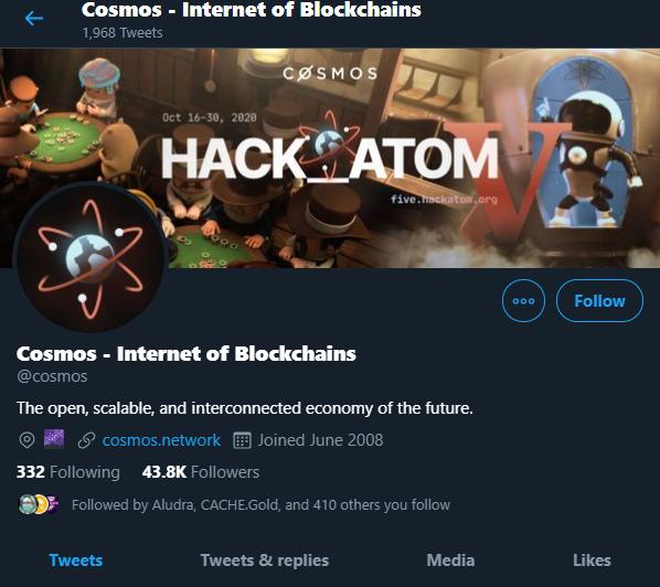 Cosmos - Twitter
